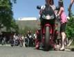 Motocykli�ci w centrum zdrowia dziecka