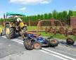 Motocykl vs grabarka z