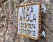 Mika Ahola pomnik  z