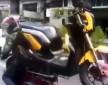 transport skutera z