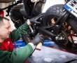 Smarowanie lancucha Castrol chain lube racing z
