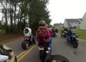 Drag bike wkr�ca plecak