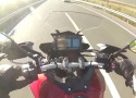 Yamaha MT-09 Tracer - 200+ kmh - test pr�dko�ci