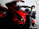 Yoshinobu Shiga i Honda CBR600RR - profesjonalna gymkhana