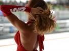 Kobiety na wy�cigach - uroki toru Sepang w obiektywie