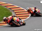 Dominacja Hiszpan�w podczas niemieckiej rundy MotoGP - zdj�cia