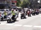 Protest motocyklist�w przeciwko op�atom na autostradach