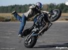 Stunt na lotnisku - Borsk 2010
