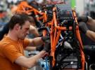 Tak powstaj� motocykle - fabryka KTM na zdj�ciach