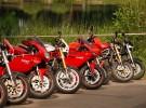 Zlot motocykli Ducati nad Jeziorem Bia�ym