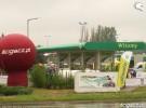 Motocyklowa kampania BP - mokro w �odzi