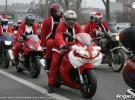 Krakowscy Miko�aje na motocyklach 2009
