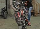 Stunt trening w hali - ustawka P�ock - zdj�cia zima 2008