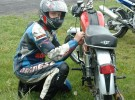 Wy�cigi zabytkowych motocykli na lubelskim torze