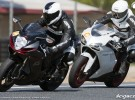 GSX-R 750 2011 vs 848 Evo 2011 - pojedynek Suzuki i Ducati