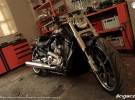 HD V-Rod Muscle - efekt wsp�pracy z Porsche