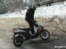Jazda skuterem zimą