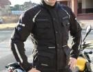 Modeka Cool Black - kurtka tekstylna