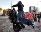 Harley Davidson stunt z