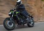 Kawasaki Z650 model 2020 - 190 cm i 120 kg ridera - powinni tego zabronić