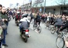 Kondukt żałobny - motocykle, rowery, skuter