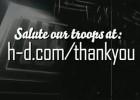 Marisa Miller i Harley-Davidson składają hołd amerykańskiej armii