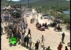 Putin na Harley-Davidsonie na festiwalu w Ukrainie