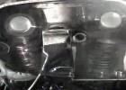 Układ rozrządu silnika w motocyklu sportowym podczas pracy