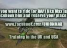 Angielski zawodnik motocross czy muzyk?