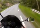 Centymetry od tragedii motocyklistów