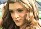 Crissy Lynn - modelka i motocykl
