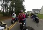 Drag bike wkręca plecak
