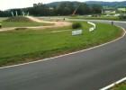 Drift motocyklem - długi zakret