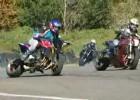 Ekstremalny drift motocyklami
