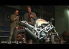 Eric Pogorzelec na Custombike 2011 - zwycięzca w klasie Streetfighter