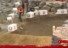 FIM Indoor Enduro WC - Finałowy przejazd Tadka i wypadek