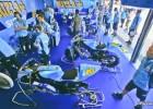 Garaż Rizla Suzuki - godzina w czasie MotoGP