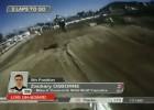 Glen Helen MX2, wyścig 2 - Zach Osborne wyprzedza Maxa Anstie