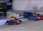 Hayden i Rossi - wyścigi na lodzie w czasie Wrooom 2011
