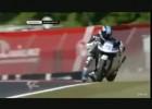 Highside i wyratownie od gleby - Raffaele De Rosa w GP250