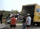 Jak nie ładować motocykla na ciężarówkę?