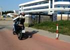 Łukasz Kurowski i Yamaha WR250X Supermoto - dojazd do pracy