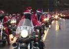 Mikołaje w Trójmieście na motocyklach 2008