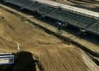 Motocross widziany ze śmigłowca