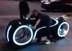 Motocykl z Tron: Legacy na ulicy