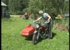 Motocykl z koszem - jak nim zakręcać