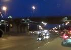 Motocyklista przygnieciony przez własny jednoślad - wypadek w Rosji