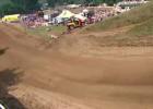 Motocyklowa katapulta na zawodach MX w Millville