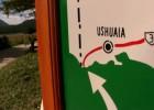 Park Narodowy Tierra del Fuego w Argentynie na Suzuki DL650