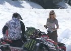 Paul Thacker - skoki na skuterach śnieżnych